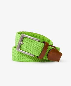 Colored Woven Belt Forever 21
