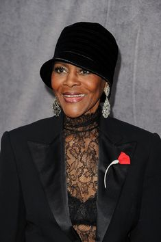 Cicely Tyson stunning and only getting better.