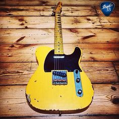 Another classic looking Tele made by Nash Guitars (submitted by @thomasjhilton) #teletuesday #studio33guitar #telecaster