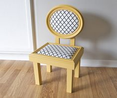 picture frame chair how-to