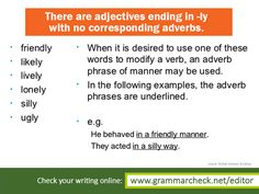 English Grammar - Can you add more examples?