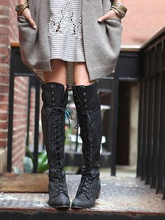 Jeffrey Campbell Studded Seattle Love Boot at Free People Clothing Boutique