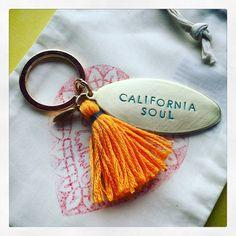 California Soul keychain /Schlüsselanhänger / unisex /