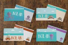 Lunchbox Notes >> Ocean Theme -