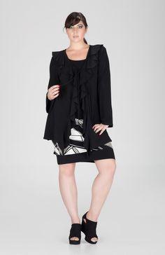 493fe7fb83c Eva Varro | Single Layered Tank Tunic $92.50 | #evavarro #eva #varro  #handmade #fashion #madeinusa #womens #clothing #Tunics #Tops #plussize  #plus #size