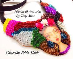 Nuevos modelos de La colección Frida Kahlo By Tessy Arias... Hecho a mano.. @libelulacollares