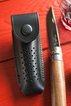 Etui pour couteau Opinel N°8 – port vertical.