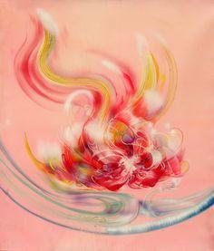 凤凰  phoenix 100cmx120cm 布面油画 Oil on Linen.jpg