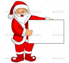 VECTOR DOWNLOAD (.ai, .psd) :: http://vector-graphic.de/pinterest-itmid-1000063607i.html ... Santa Claus with blank paper ...  cartoon, cheerful, christmas, december, gift, greeting, happiness, holiday, joy, present, red, santa claus, sign, space, winter  ... Vectors Graphics Design Illustration Isolated Vector Templates Textures Stock Business Realistic eCommerce Wordpress Infographics Element Print Webdesign ... DOWNLOAD :: http://vector-graphic.de/pinterest-itmid-1000063607i.html
