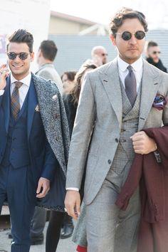 2b13df4daa6 The smartest men in Florence attending Pitti Uomo autumn winter Italy s big  menswear trade fair