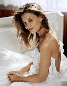 Katie Holmes-pretty, good actress and came to her senses regarding Tom