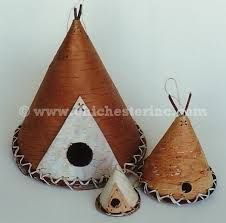 Birdhouses from bark - Google Search