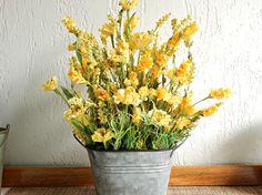 Yellow Flower Arrangement Yellow Wildflowers Wild Flower