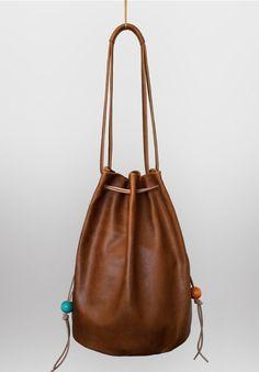 Chocolate Leather Bag of Paradise – momojumps