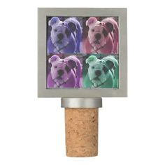 Bulldog Wine Stopper - home gifts ideas decor special unique custom individual customized individualized