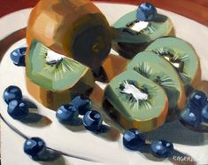 """""""Kiwis and Blueberries"""" Sold 