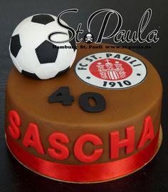 Fussball Torte St. Pauli by www.st-paula.de