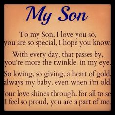 I love my sons, Austin, Justin and Hunter with all my heart!  <3