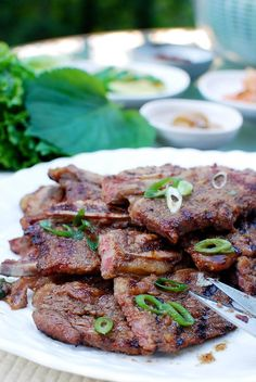 Korean BBQ short ribs are a must for your summer grilling. Try this authentic, tasty galbi recipe! Everyone loves it every time!