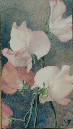 uit: Verkade Album 'De Bloemen in onze tuin' from: Verkade picture cards 'The flowers in our garden'