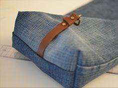 DIY-Anleitung: Upcycling: Tasche aus alter Jeans nähen via DaWanda.com