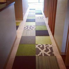 Buy Line, Please-Cayenne carpet tile by FLOR