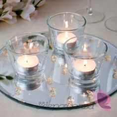 Świecznik tea light Tea Lights, Candle Holders, Candles, Tea Light Candles, Porta Velas, Candy, Candle Sticks, Candlesticks, Candle