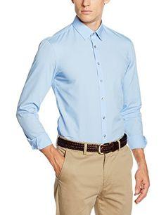 #Calvin #Klein #Herren #Businesshemd #Marseille, #Bleu #(Light #Blue), #37 Calvin Klein Herren Businesshemd Marseille, Bleu (Light Blue), 37, , , , , ,