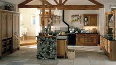 Old farmhouse kitchen colors modern country chic decor color schemes most popular wall Country Kitchen Designs, Beautiful Kitchen Designs, Modern Kitchen Design, Beautiful Kitchens, Interior Design Kitchen, Country Kitchens, Interior Decorating, Rustic Kitchens, Country Bathrooms