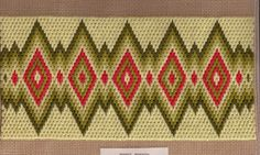 Gallery.ru / Фото #114 - Bargello 1 - Olgallery Broderie Bargello, Bargello Needlepoint, Bargello Quilts, Hardanger Embroidery, Embroidery Patterns, Hand Embroidery, Cross Stitch Patterns, Bargello Patterns, Crochet Flower Tutorial