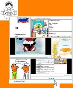 Curso de Ruso Básico A1 Online propio, desarrollado para las academias de idiomas y aulas virtuales