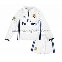 Fotballdrakter Barn Real Madrid 2016-17 Hjemme Draktsett Langermet
