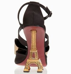 Mugnai Eiffel Tower heels.