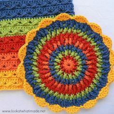 Front Post Frenzie Crochet Potholder free crochet patterns  Photo