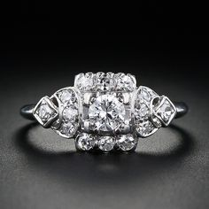 1950s engagement ring. @Ashlyn Gilbert Gilbert Gilbert Gilbert Moon and this one lol