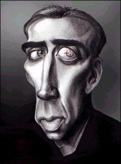 Nicolas Cage (caricature)