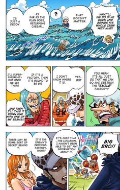One Piece Manga, Bring It On, Color, Sleeves, Colour, Colors