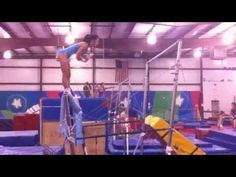 If she can catch this, this is going up there with the Tkachev salto and Comaneci salto as one of my favorite skills ever. #gymnastics #bars