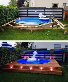 these spots you can put your swimming pool in the right place and can . With these spots you can put your swimming pool in the right place and can . With these spots you can put your swimming pool in the right place and can . Piscina Diy, Diy Swimming Pool, Diy Pool, Kiddie Pool, Swimming Pool Decorations, Pool Pool, Backyard Pool Designs, Modern Backyard, Diy Backyard Ideas