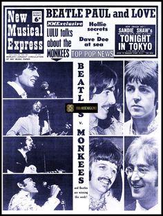 Sandie Shaw, Dave Davies, Jeff Beck, Music Paper, Uk Music, Music Magazines, Vintage Music, The Beatles
