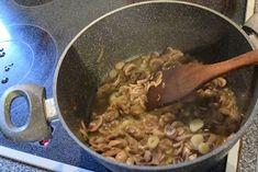ΜΑΓΕΙΡΙΚΗ ΚΑΙ ΣΥΝΤΑΓΕΣ: Μακαρόνια με κόκκινη σάλτσα & μανιτάρια !! Beef, Chicken, Food, Meat, Essen, Meals, Yemek, Eten, Steak