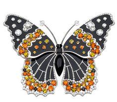 Брошь ''Бабочка''.Коллекция Papillons Collection от The Van Cleef & Arpels.