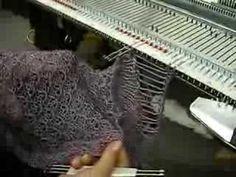 Machine Knit Fringe by Carole Wurst