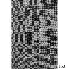 nuLOOM Handmade Concentric Diamond Trellis Wool/Cotton Rug | Overstock.com Shopping - The Best Deals on 7x9 - 10x14 Rugs