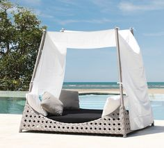 Prince Day Bed from ikandi. Don't quite have the weather or the funds but it doesn't hurt to dream!