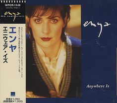 """For Sale - Enya Anywhere Is Japan  CD single (CD5 / 5"""") - See this and 250,000 other rare & vintage vinyl records, singles, LPs & CDs at http://eil.com"""