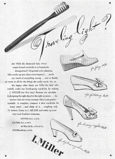 1940 | I. Miller | Travelling Light?