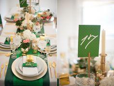St. Patrick's Day Shower Ideas Green elements - Green Inspiration ~ Green Decor ~ Green Accents #WeddingPlanner #WestVirginia #Weddings
