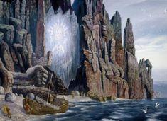 Concept Art Landscape Fantasy Atlantis 22 Ideas For 2019 Auras, Library Of Alexandria, Big Canvas Art, Sketchbook Layout, Art Nouveau Illustration, Russian Painting, Surrealism Painting, Vintage Art Prints, Cool Art Drawings