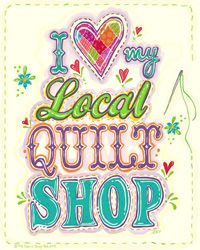 The Visit Your Local Quilt Shop Day blog tour kicks off today! Join some of your favorite designers, teachers, and popular bloggers in the sewing and quilting world and visit their blogs as they talk about their favorite local quilt and fabric shops, shops they've visited on their travels, and …